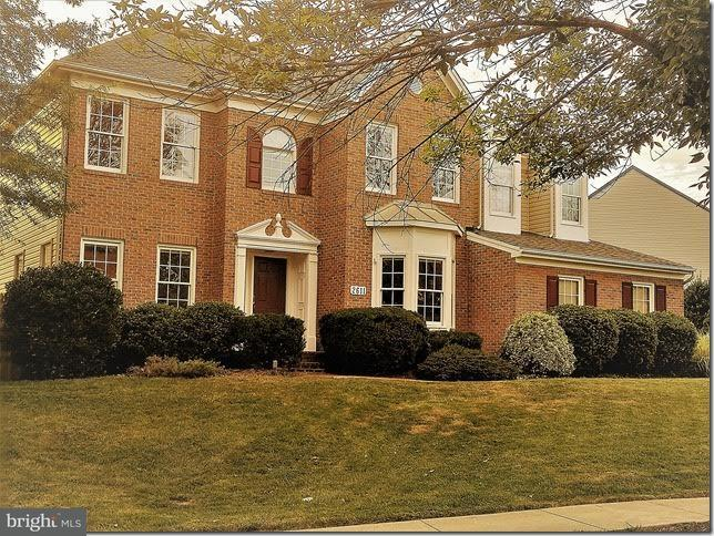 Single Family Home for Sale at 2611 Northrup Drive 2611 Northrup Drive Rockville, Maryland 20850 United States