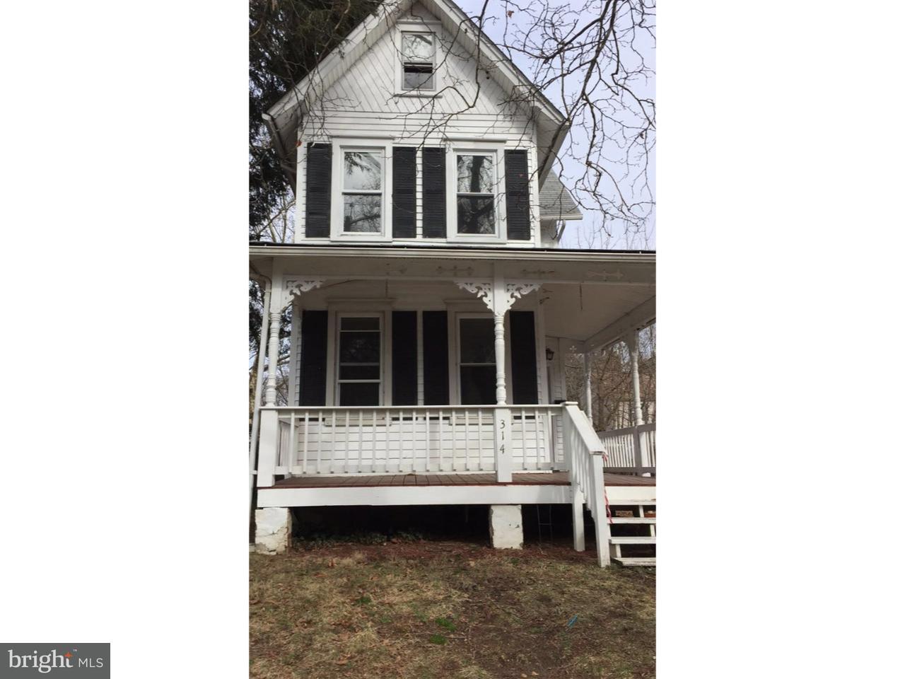 Casa Unifamiliar por un Alquiler en 314 WALNUT Street Delanco Township, Nueva Jersey 08075 Estados Unidos
