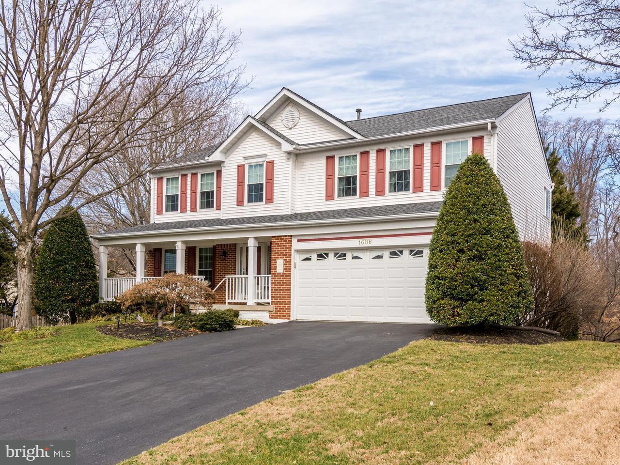 Eensgezinswoning voor Verkoop een t 1606 Twigs Court 1606 Twigs Court Crofton, Maryland 21114 Verenigde Staten