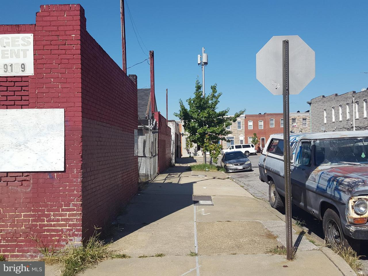 Land for Sale at 3202 E Lombard St Baltimore, Maryland 21224 United States