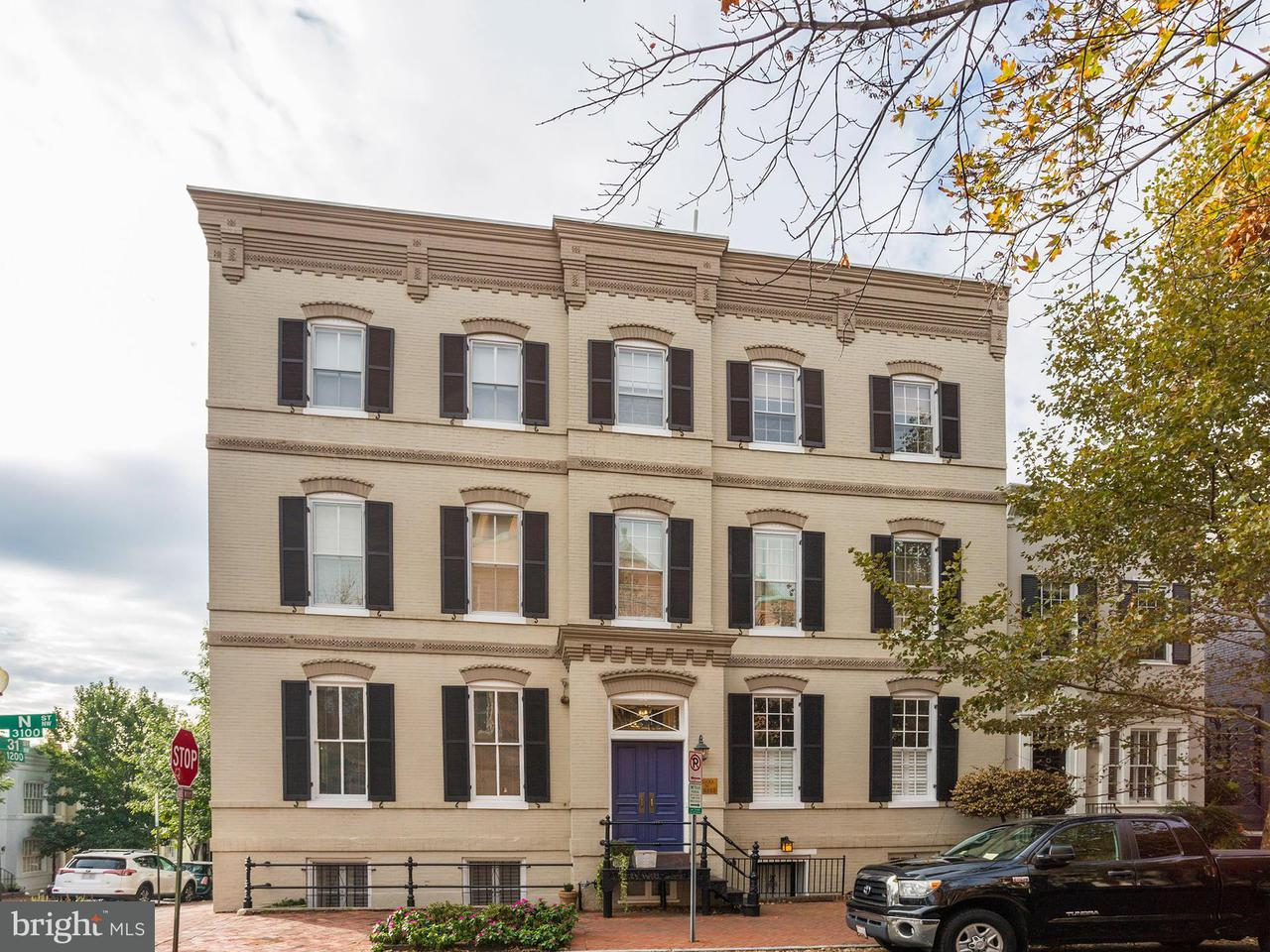 Condominium for Sale at 3100 N St Nw #1 3100 N St Nw #1 Washington, District Of Columbia 20007 United States