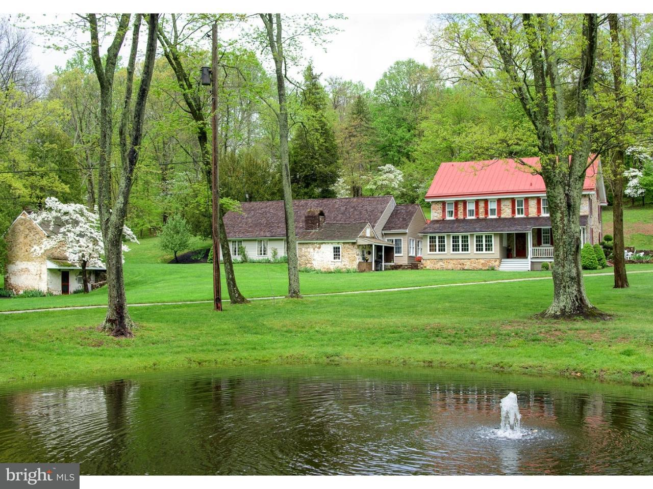 独户住宅 为 销售 在 1881 ART SCHOOL Road 切斯特斯普林斯, 宾夕法尼亚州 19425 美国