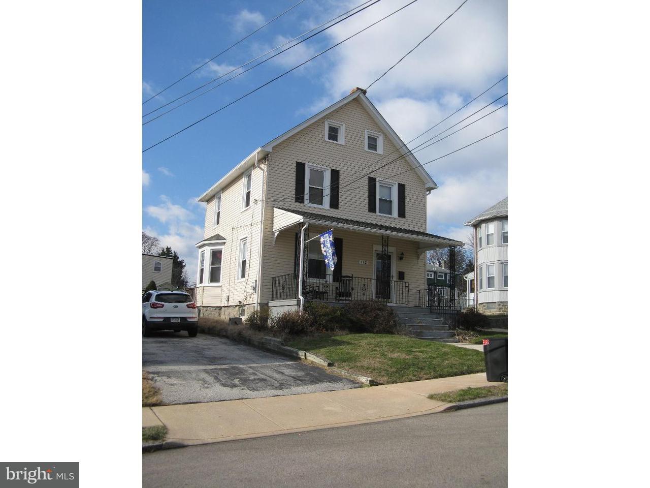 Частный односемейный дом для того Аренда на 112 N DIAMOND Street Clifton Heights, Пенсильвания 19018 Соединенные Штаты