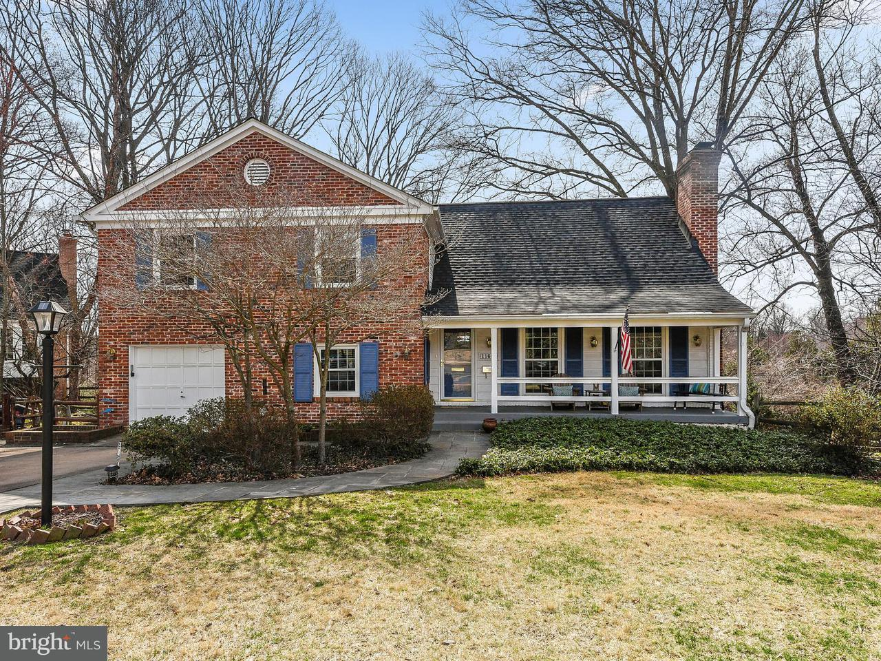 단독 가정 주택 용 매매 에 11600 Magruder Lane 11600 Magruder Lane Rockville, 메릴랜드 20852 미국