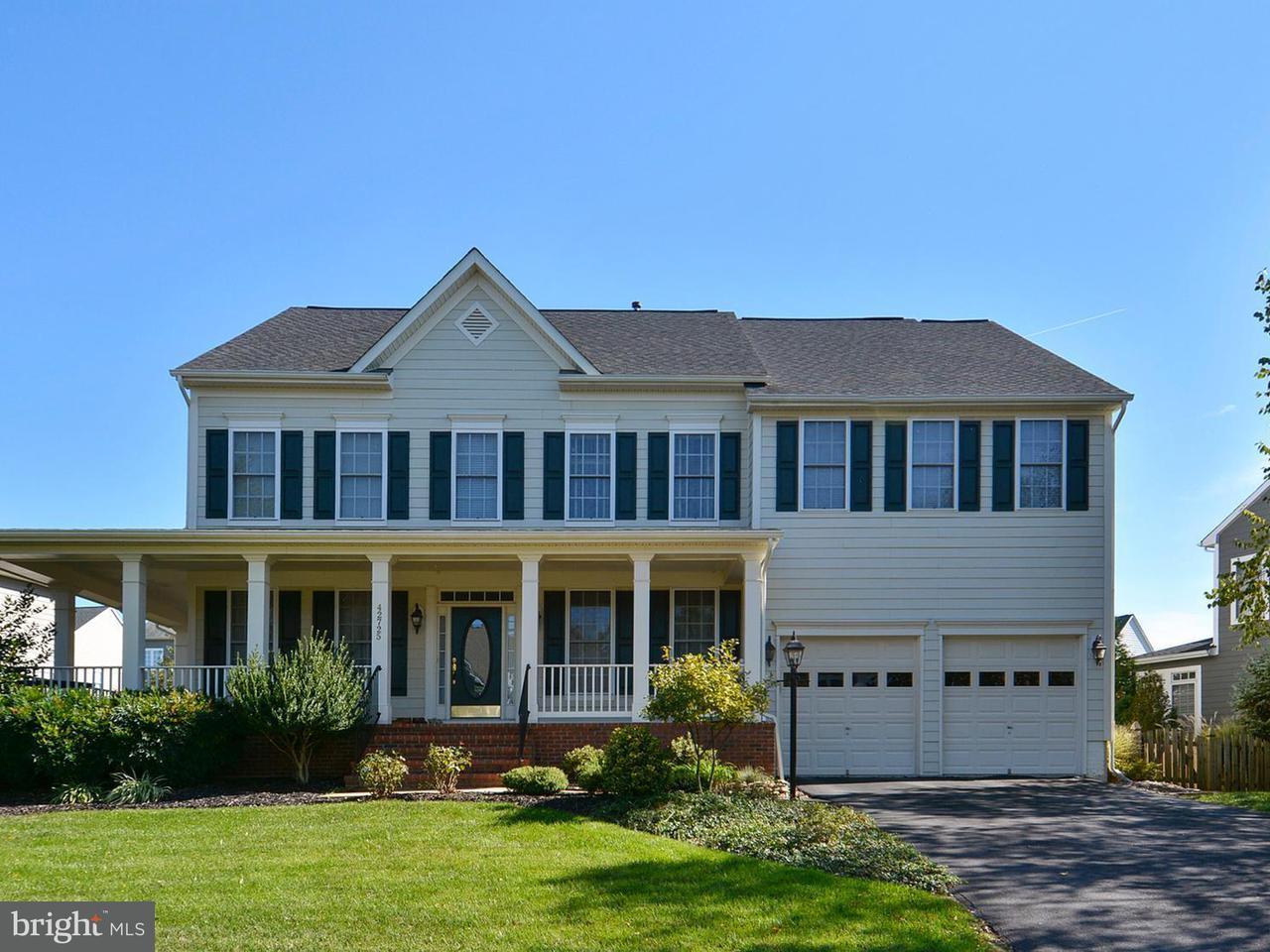Single Family Home for Sale at 42725 Ridgeway Drive 42725 Ridgeway Drive Broadlands, Virginia 20148 United States