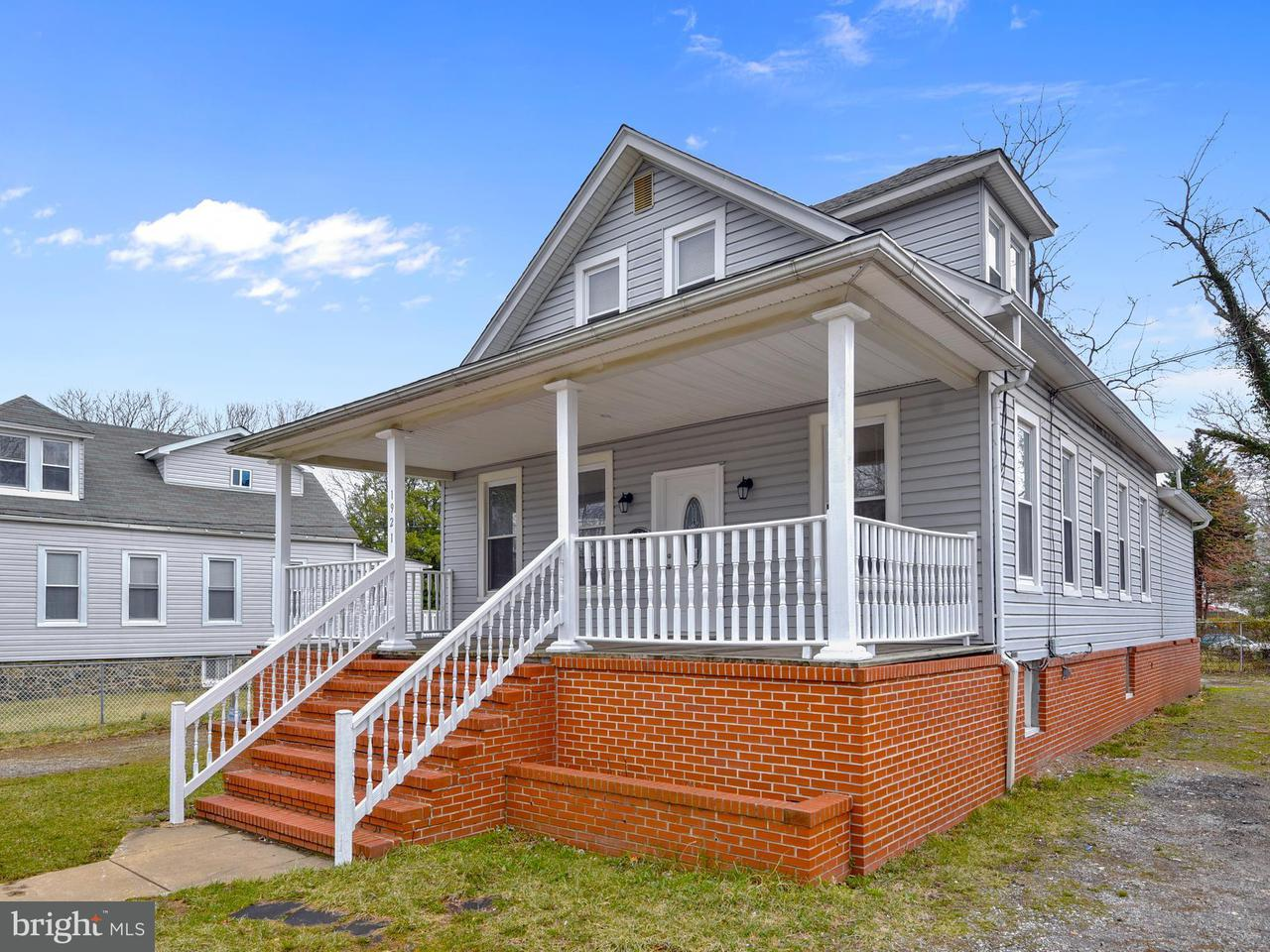 Single Family for Sale at 1921 Forest Park Ave Baltimore, Maryland 21207 United States