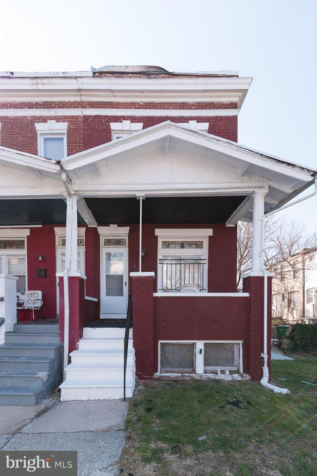 Single Family for Sale at 2933 Arunah Ave Baltimore, Maryland 21216 United States