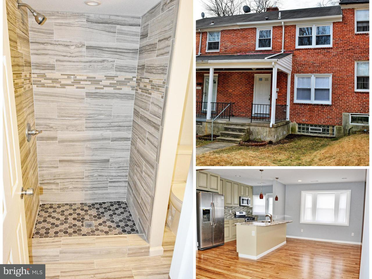 Single Family for Sale at 1609 Stonewood Rd Baltimore, Maryland 21239 United States