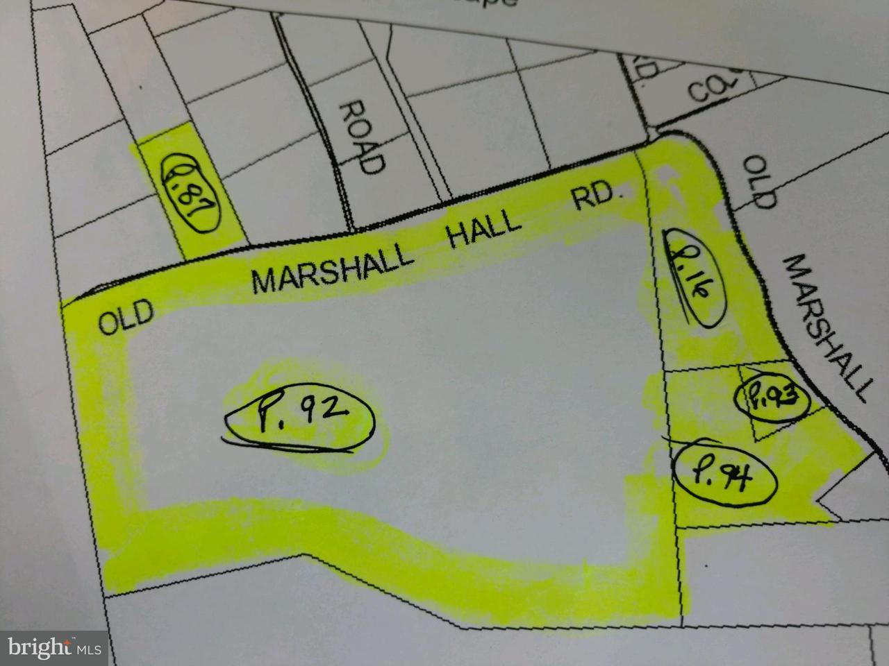 Land for Sale at 15405 Old Marshall Hall Road 15405 Old Marshall Hall Road Accokeek, Maryland 20607 United States