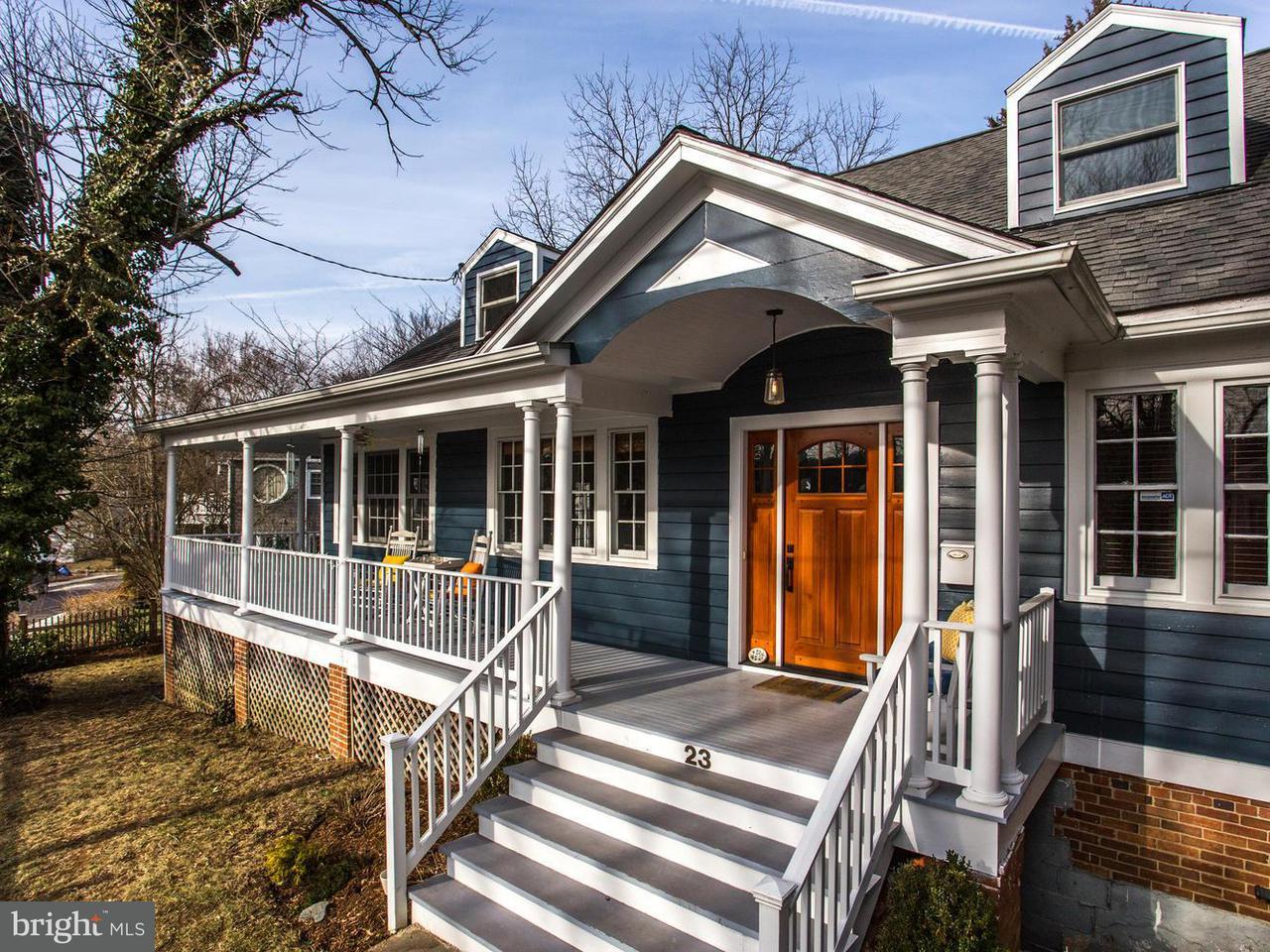 Casa Unifamiliar por un Venta en 23 Wellesley Circle 23 Wellesley Circle Glen Echo, Maryland 20812 Estados Unidos