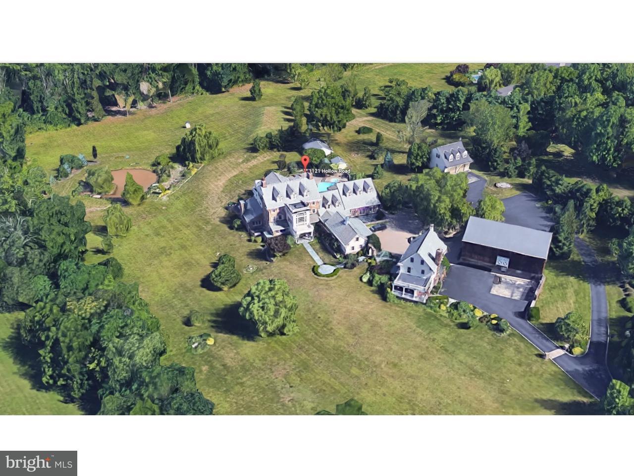 Частный односемейный дом для того Продажа на 1121 HOLLOW Road Collegeville, Пенсильвания 19426 Соединенные Штаты