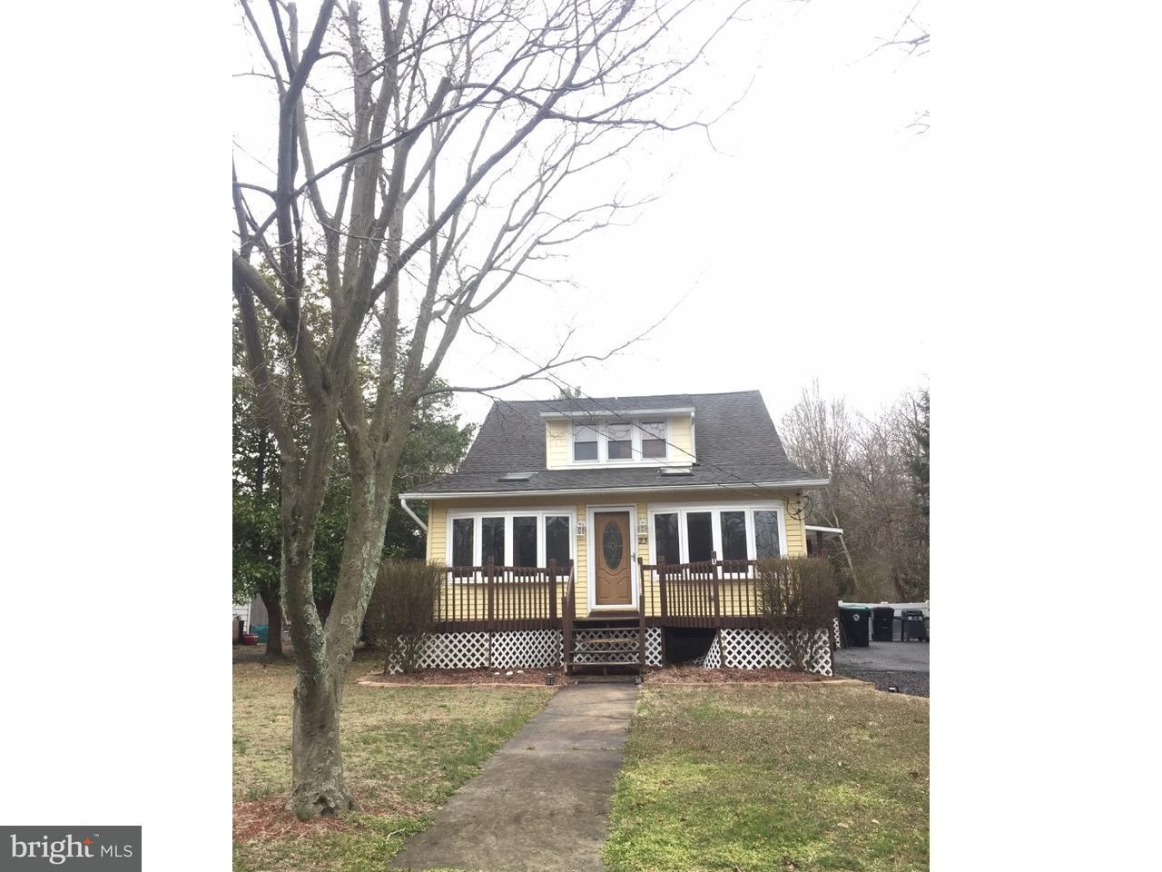 Einfamilienhaus für Verkauf beim 23 S CEDAR BROOK Road Cedar Brook, New Jersey 08081 Vereinigte Staaten
