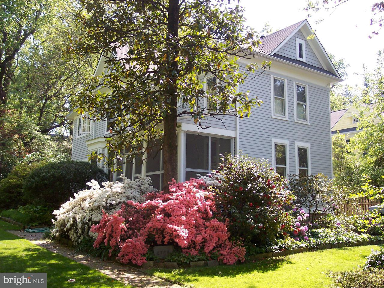 Single Family Home for Sale at 4708 Drummond Avenue 4708 Drummond Avenue Chevy Chase, Maryland 20815 United States