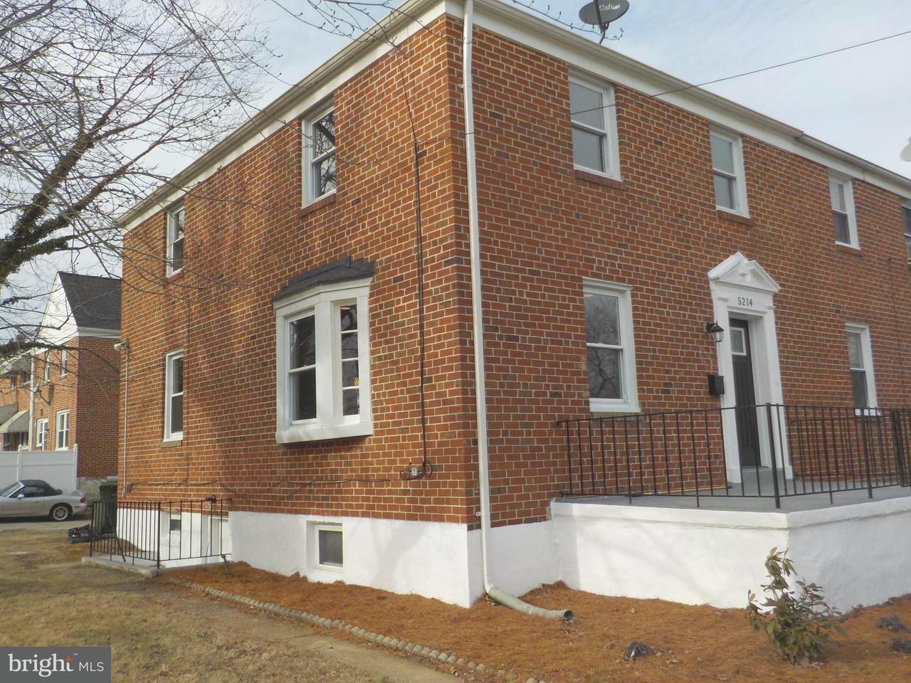 Single Family for Sale at 5214 Edmondson Ave Baltimore, Maryland 21229 United States