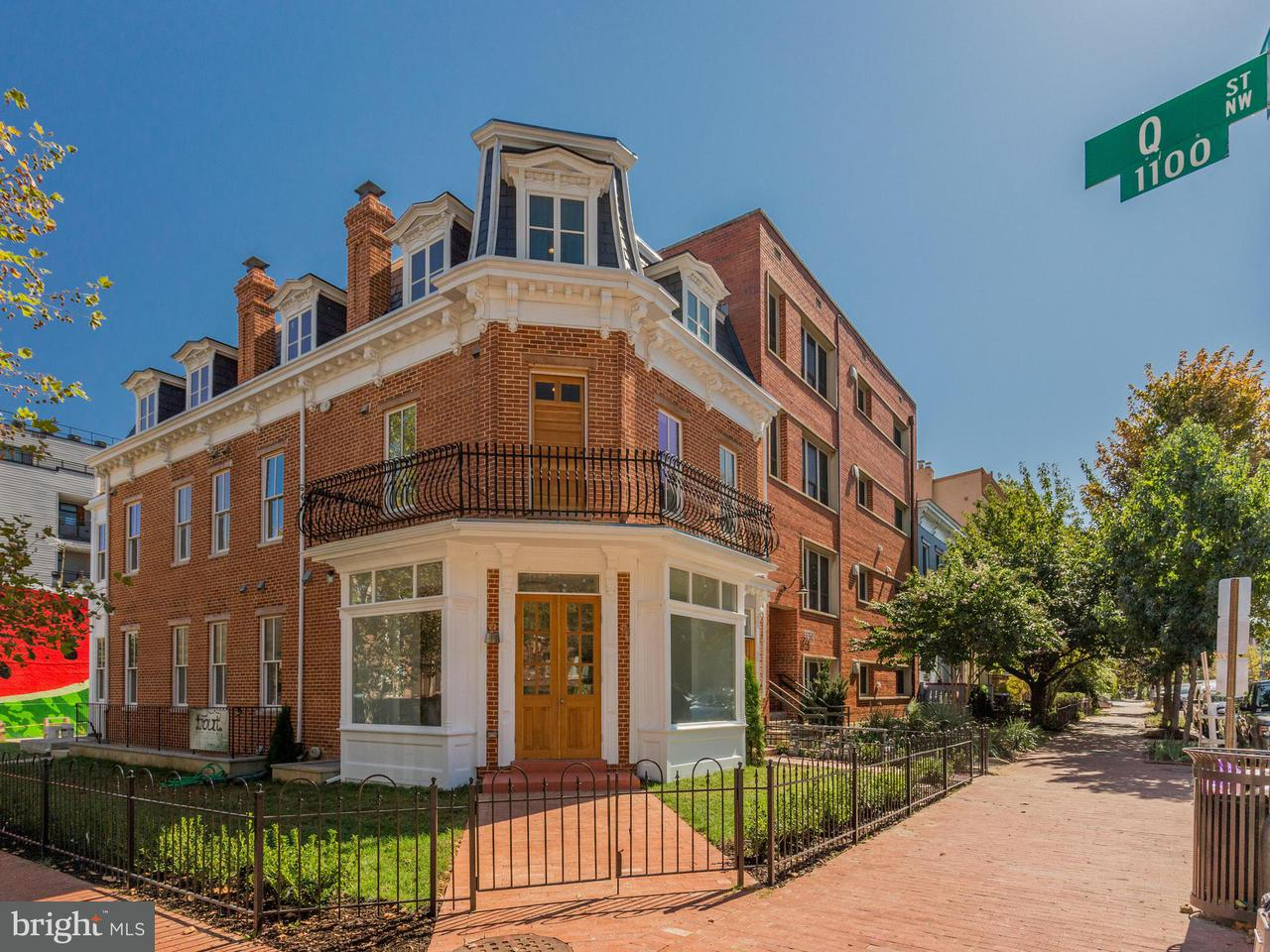 Condominium for Sale at 1527 12th St Nw #2 1527 12th St Nw #2 Washington, District Of Columbia 20005 United States