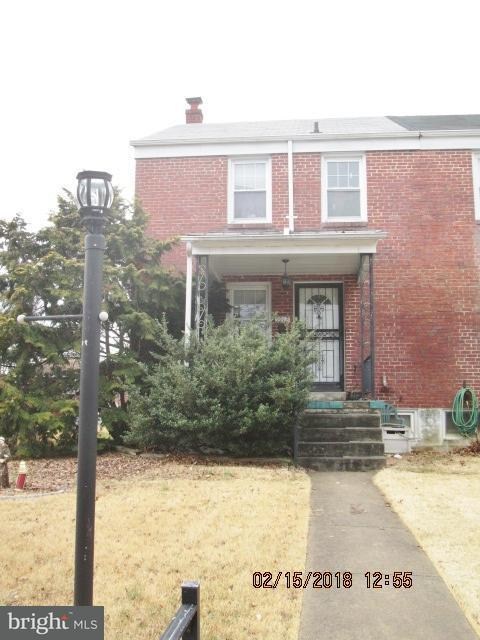 Single Family for Sale at 5912 Glenkirk Rd Baltimore, Maryland 21239 United States