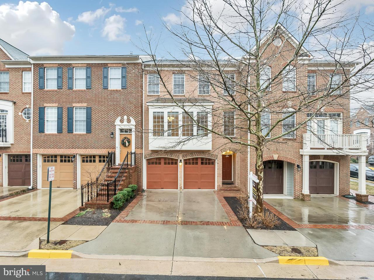 Townhouse for Sale at 162 Herndon Mill Circle 162 Herndon Mill Circle Herndon, Virginia 20170 United States