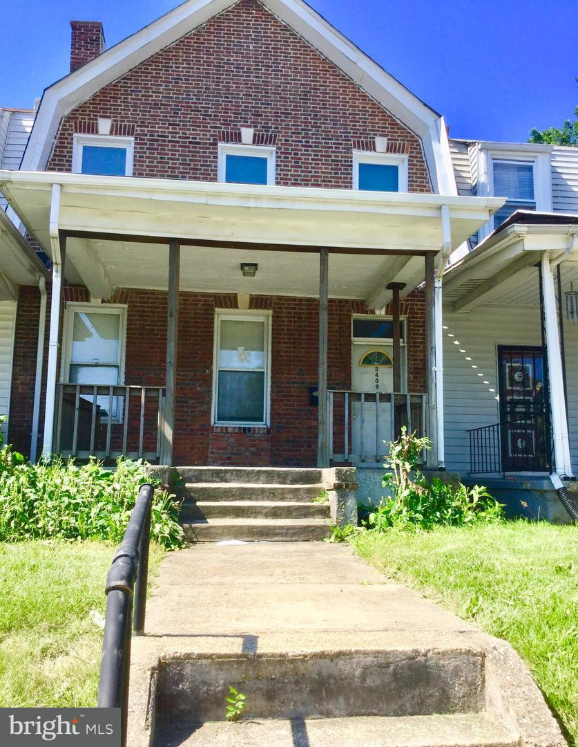 Single Family for Sale at 3409 Liberty Heights Ave Baltimore, Maryland 21215 United States
