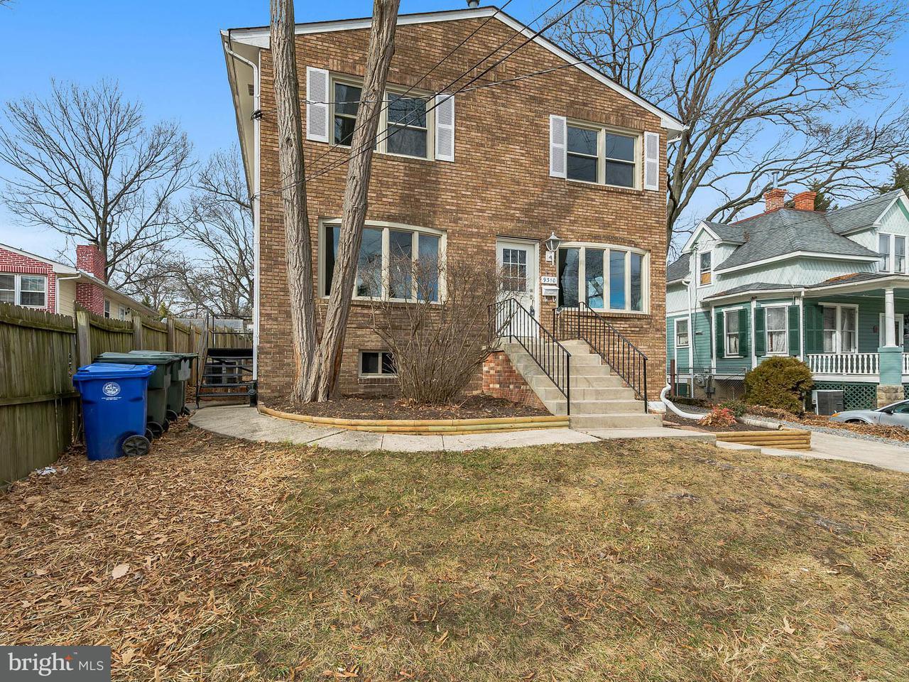 Casa Unifamiliar por un Venta en 9310 Rhode Island Avenue 9310 Rhode Island Avenue College Park, Maryland 20740 Estados Unidos