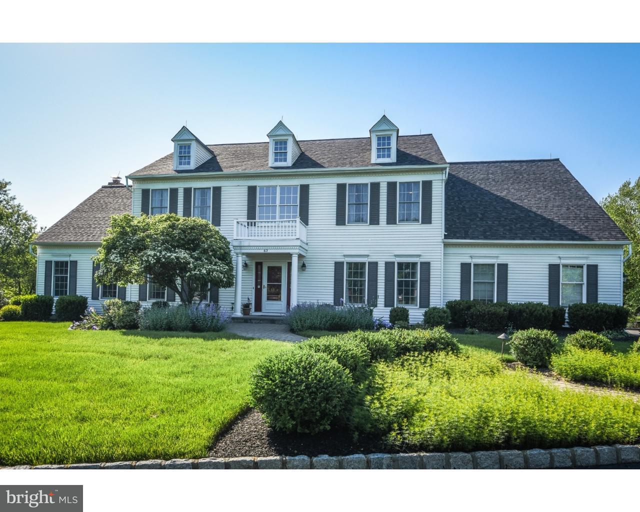Einfamilienhaus für Verkauf beim 62 DOYLE Lane Belle Mead, New Jersey 08502 Vereinigte StaatenIn/Rund um: Montgomery Township