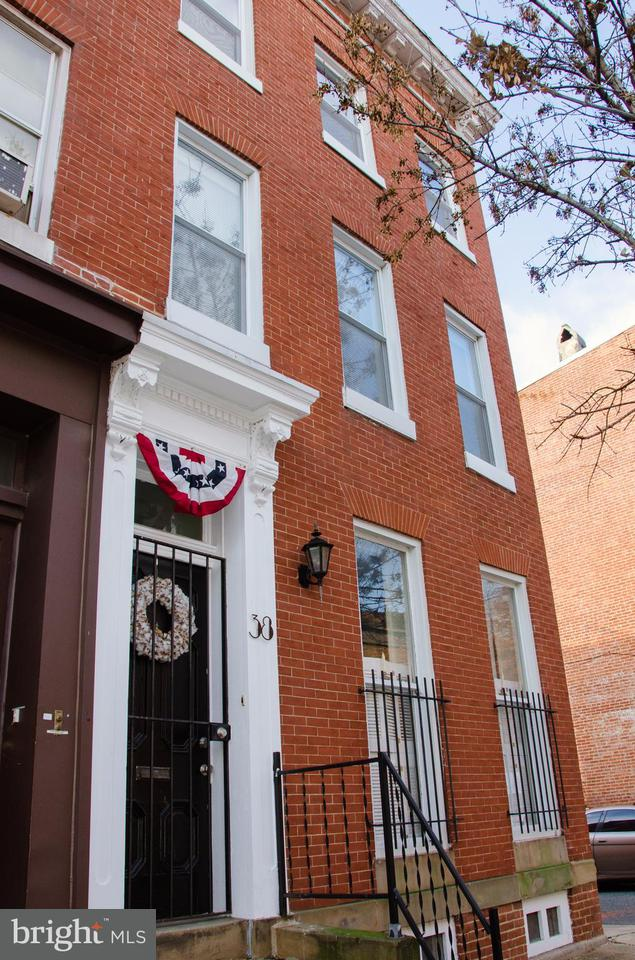 Single Family for Sale at 38 Parkin St Baltimore, Maryland 21201 United States
