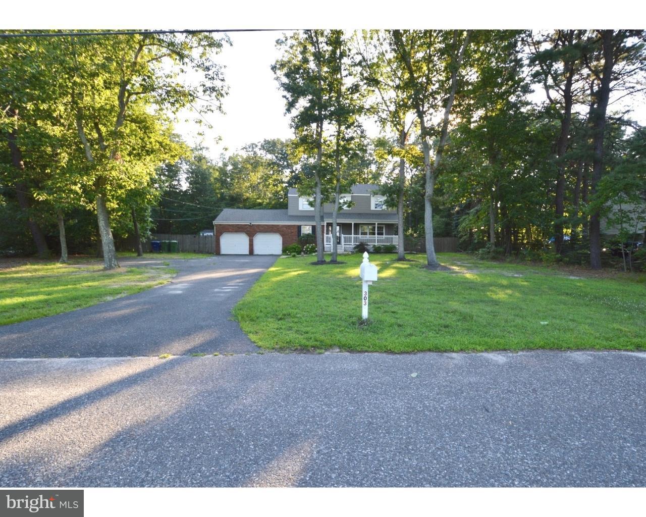 Maison unifamiliale pour l Vente à 303 FERN Drive Marlton, New Jersey 08053 États-Unis