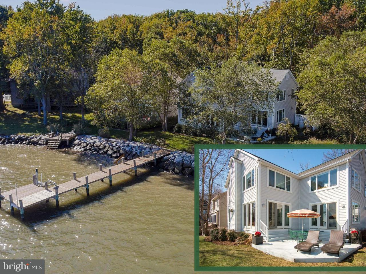 独户住宅 为 销售 在 949 Bay Drive 949 Bay Drive Deale, 马里兰州 20751 美国