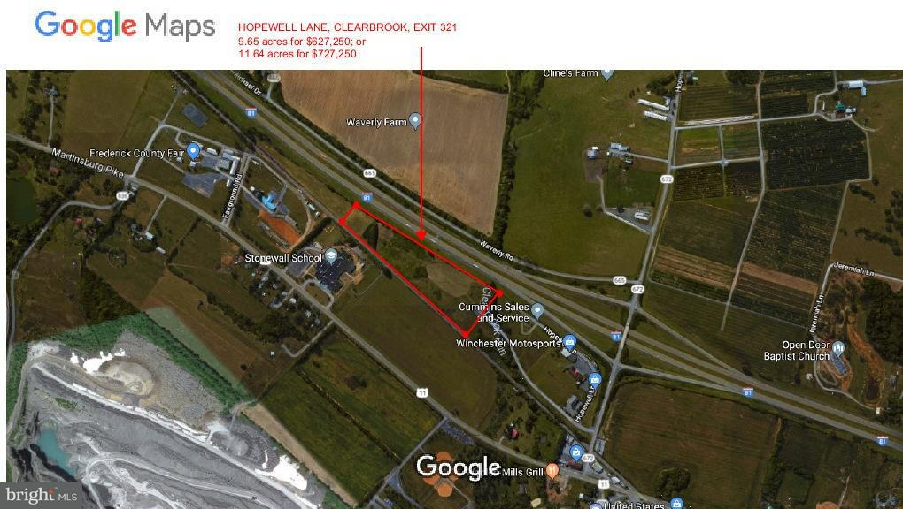 Land for Sale at 0 Hopewell Ln Clear Brook, Virginia 22624 United States