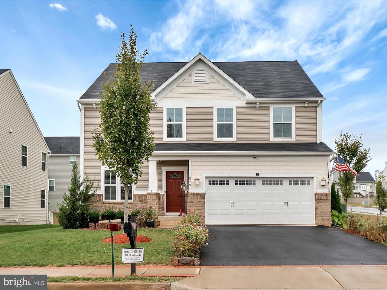 Single Family for Sale at 2020 Magnolia Cir W Culpeper, Virginia 22701 United States