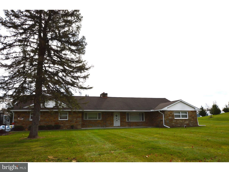 Частный односемейный дом для того Аренда на 1204 W BALTIMORE PIKE Kennett Square, Пенсильвания 19348 Соединенные Штаты