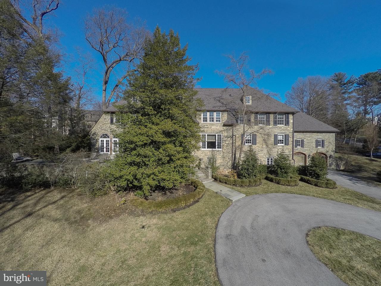 Частный односемейный дом для того Продажа на 432 MULBERRY Lane Haverford, Пенсильвания 19041 Соединенные Штаты