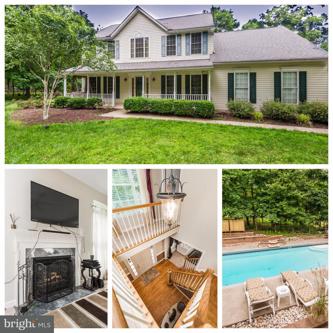Photo of home for sale at 15893 A E Mullinix Road, Woodbine MD