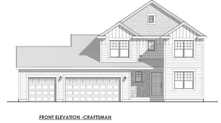 Green, Energy-Efficient Certified NEW Construction. This 4 bedroom Contemporary combines the best in open-concept living with maximum comfort and efficiency. Home Highlights include 3-panel Shaker Style White Doors & White Trim, Lg. Kitchen Island with 10'' overhang, Rear Foyer w/ Lg. Walk-In Closet, Flex room, Upstairs Laundry, Linen Closets in Full Baths, Bathroom Rough-In in basement for future expansion, 3-car garage and Space in the Right place with plenty of closets and storage. 5-Year Energy Guarantee, 1-Year Service Warranty & 10-Year Insured Limited Warranty providing peace of mind