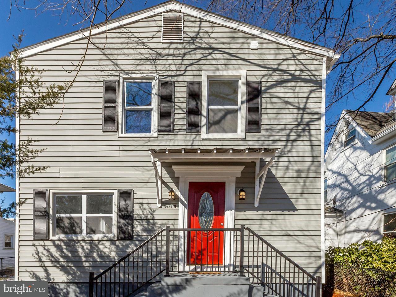 獨棟家庭住宅 為 出售 在 4018 34th Street 4018 34th Street Mount Rainier, 馬里蘭州 20712 美國