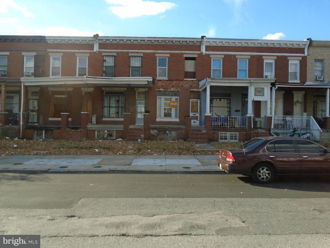 Single Family for Sale at 2026 Washington St N Baltimore, Maryland 21213 United States