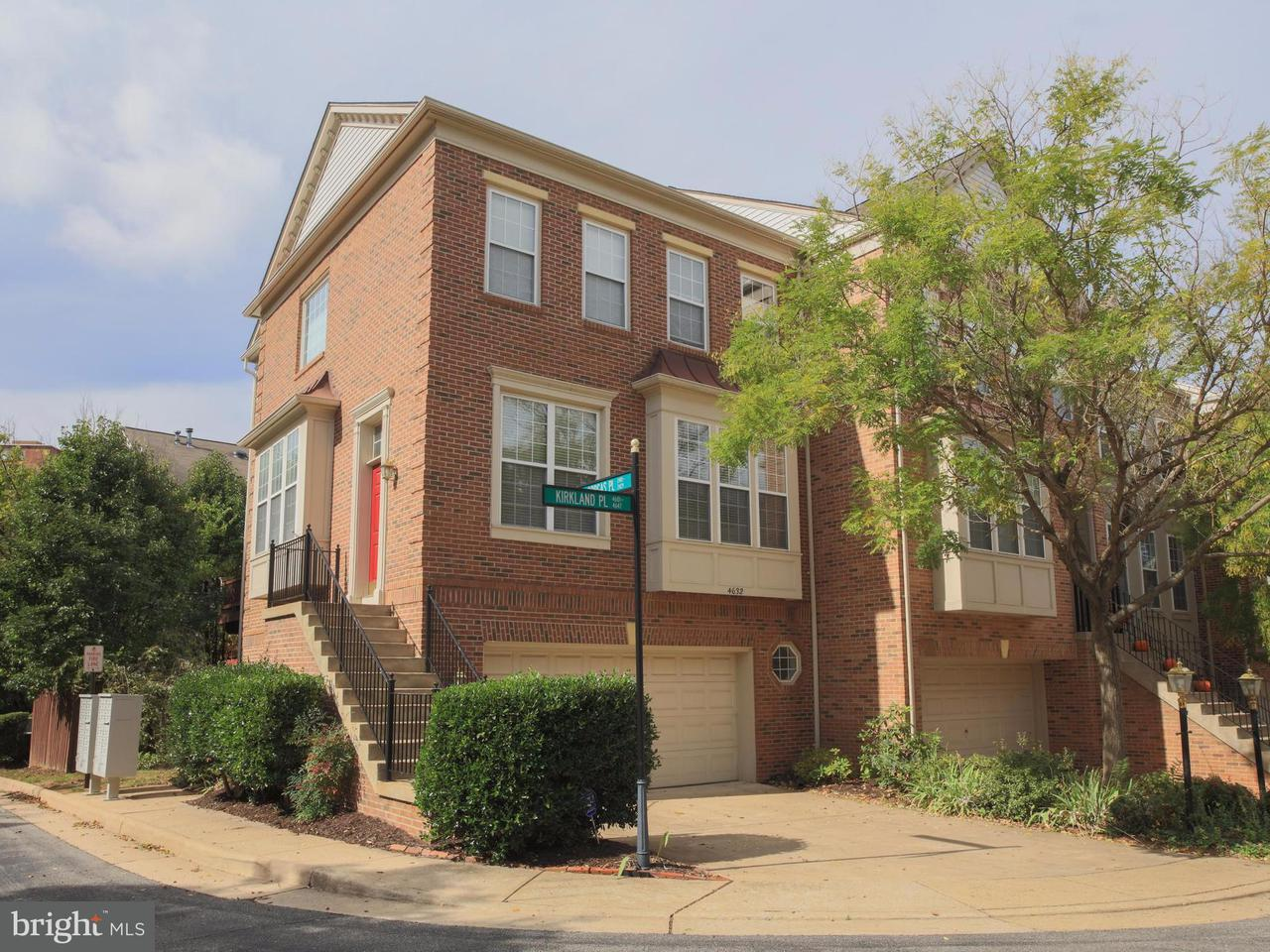 Townhouse for Sale at 4632 Kirkland Place 4632 Kirkland Place Alexandria, Virginia 22311 United States
