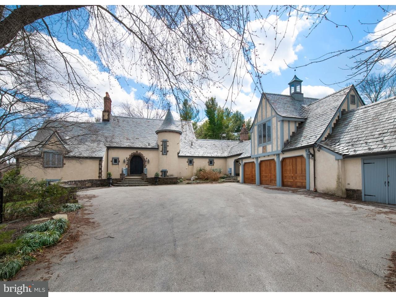 Частный односемейный дом для того Продажа на 1079 BARON Drive Bryn Mawr, Пенсильвания 19010 Соединенные Штаты