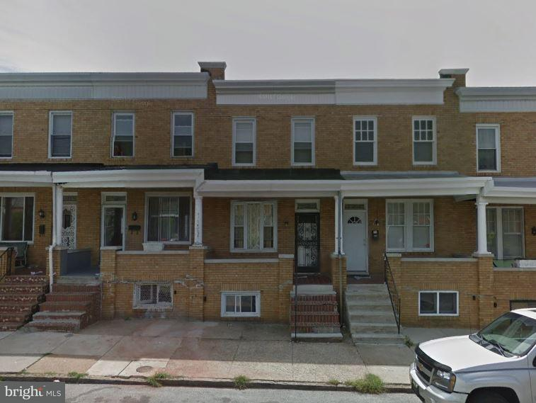 Single Family for Sale at 2709 Preston St E Baltimore, Maryland 21213 United States