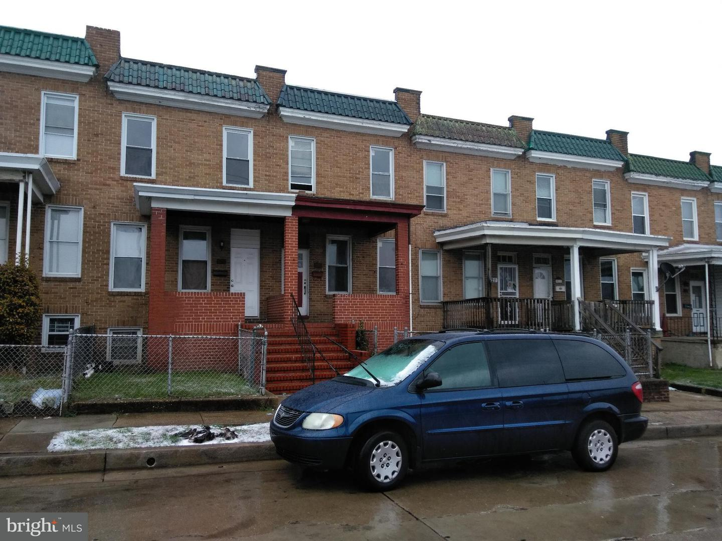 Single Family for Sale at 919 Brunswick St Baltimore, Maryland 21223 United States
