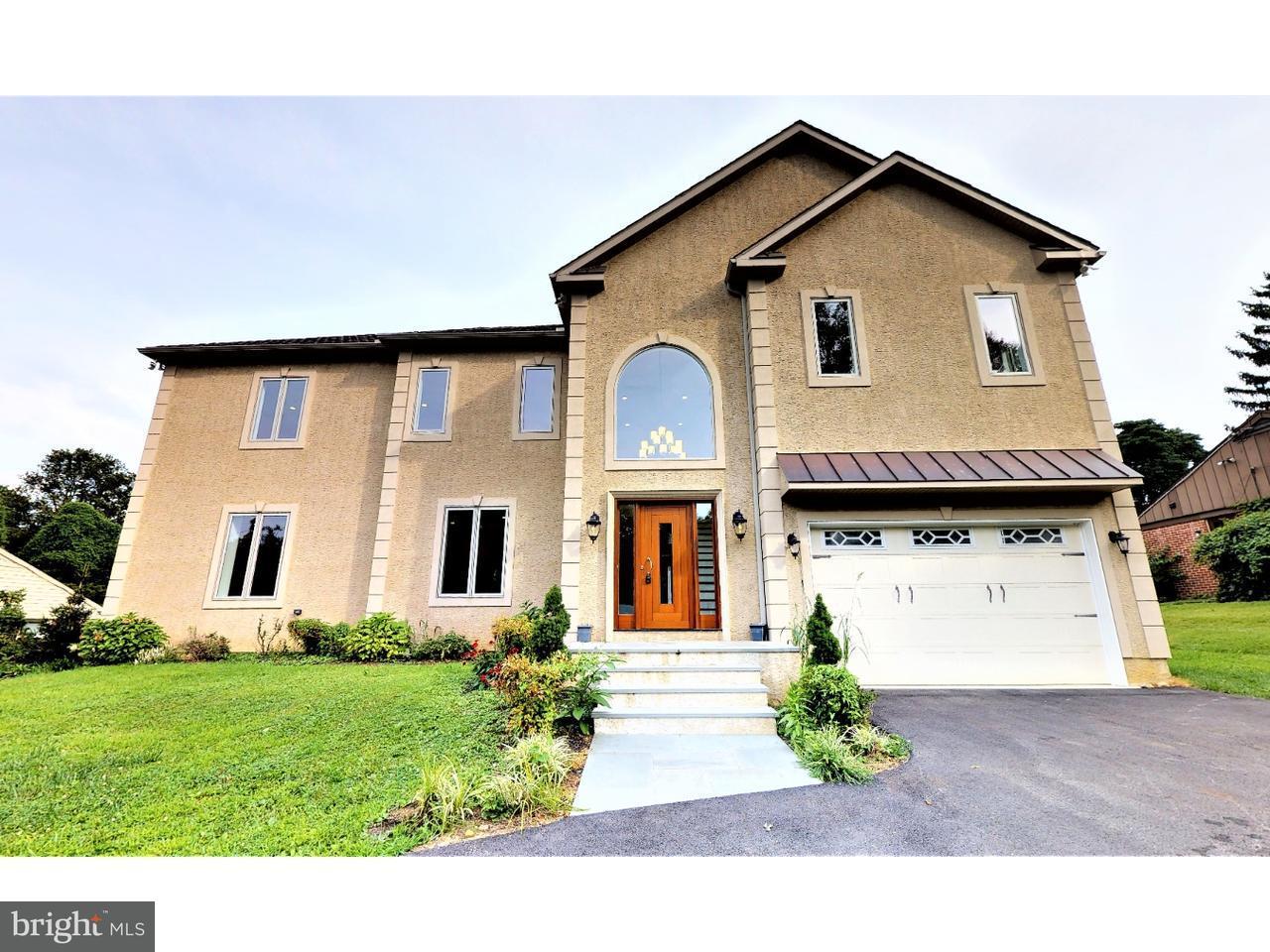 Частный односемейный дом для того Продажа на 345 MARPLE Road Broomall, Пенсильвания 19008 Соединенные Штаты