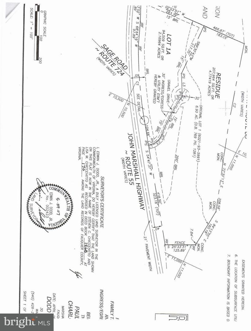 Land for Sale at 1a John Marshall Hwy Markham, Virginia 22643 United States