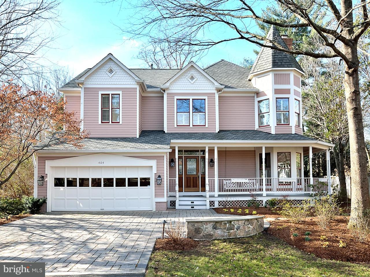 Single Family Home for Sale at 404 East Jefferson Street 404 East Jefferson Street Falls Church, Virginia 22046 United States
