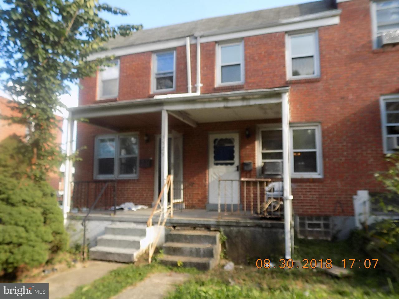 Single Family for Sale at 3529 Wilkens Ave Baltimore, Maryland 21229 United States
