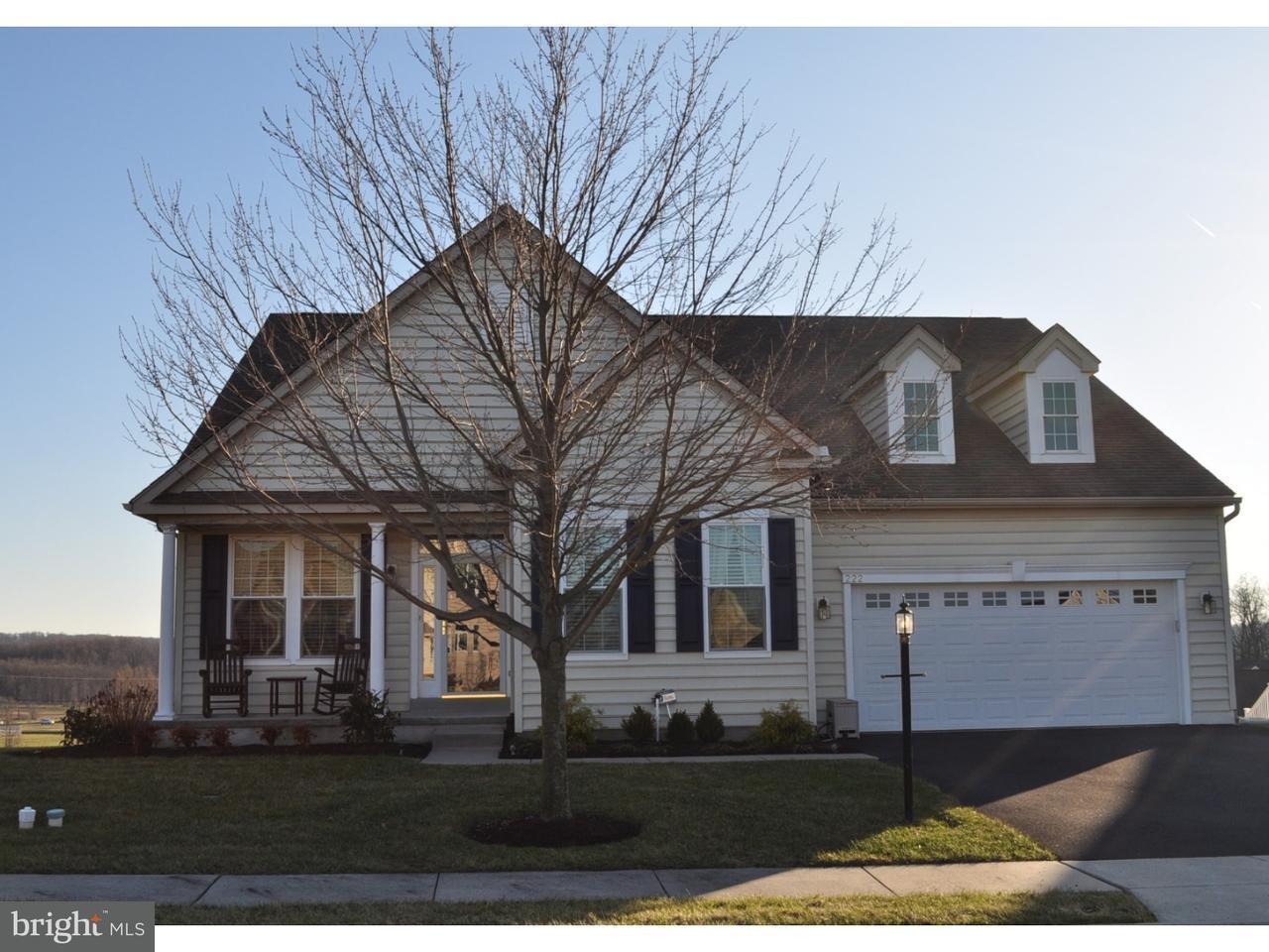 独户住宅 为 销售 在 222 COG HILL Drive Honey Brook, 宾夕法尼亚州 19344 美国