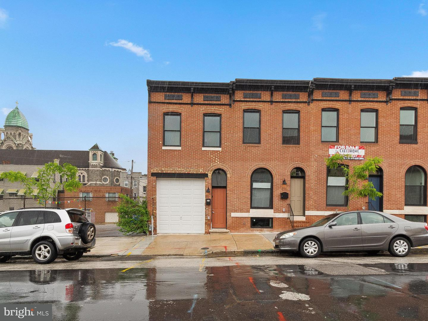 Single Family for Sale at 817 Chester St Baltimore, Maryland 21205 United States