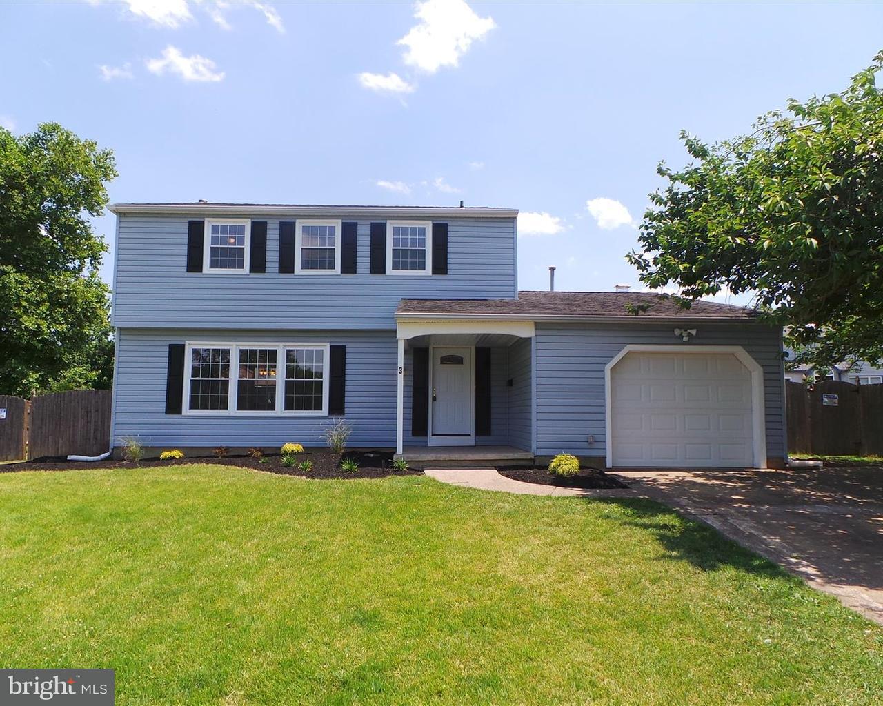 独户住宅 为 销售 在 3 HAMPTON Road Clementon, 新泽西州 08021 美国