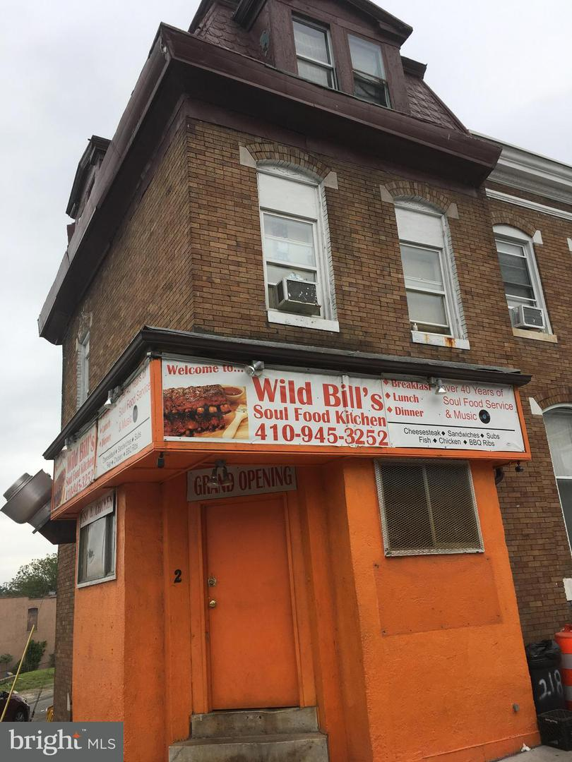 Commercial for Sale at 2 Gorman Ave N Baltimore, Maryland 21223 United States