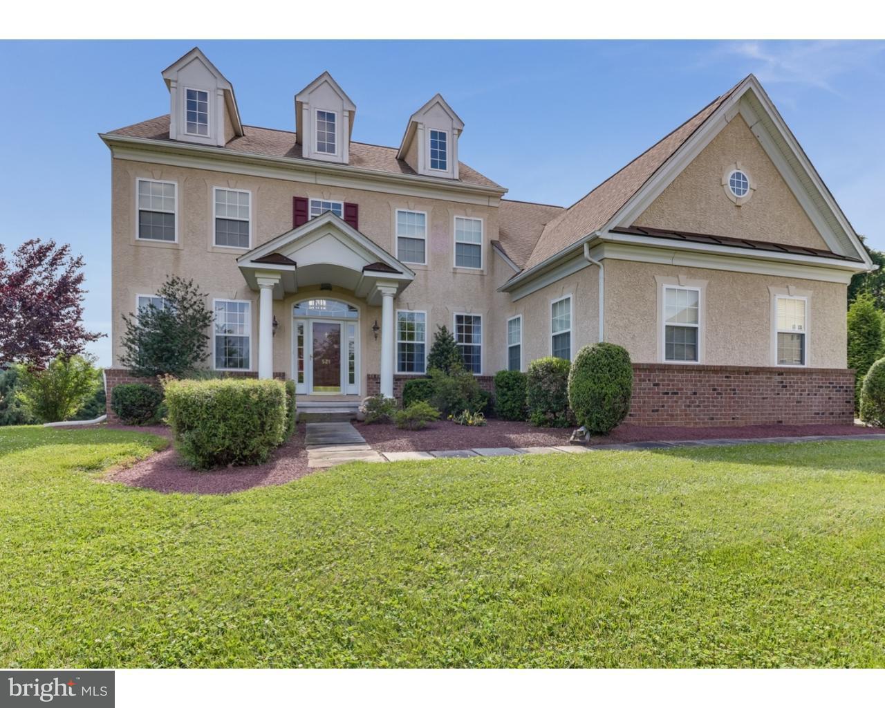 Enfamiljshus för Försäljning vid 521 PORTRUSH PASS Bear, Delaware 19701 Usa