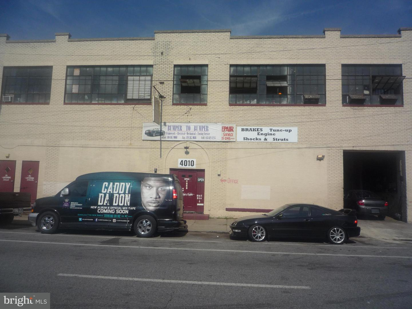 Commercial for Sale at 4010 Belvedere Ave W Baltimore, Maryland 21215 United States