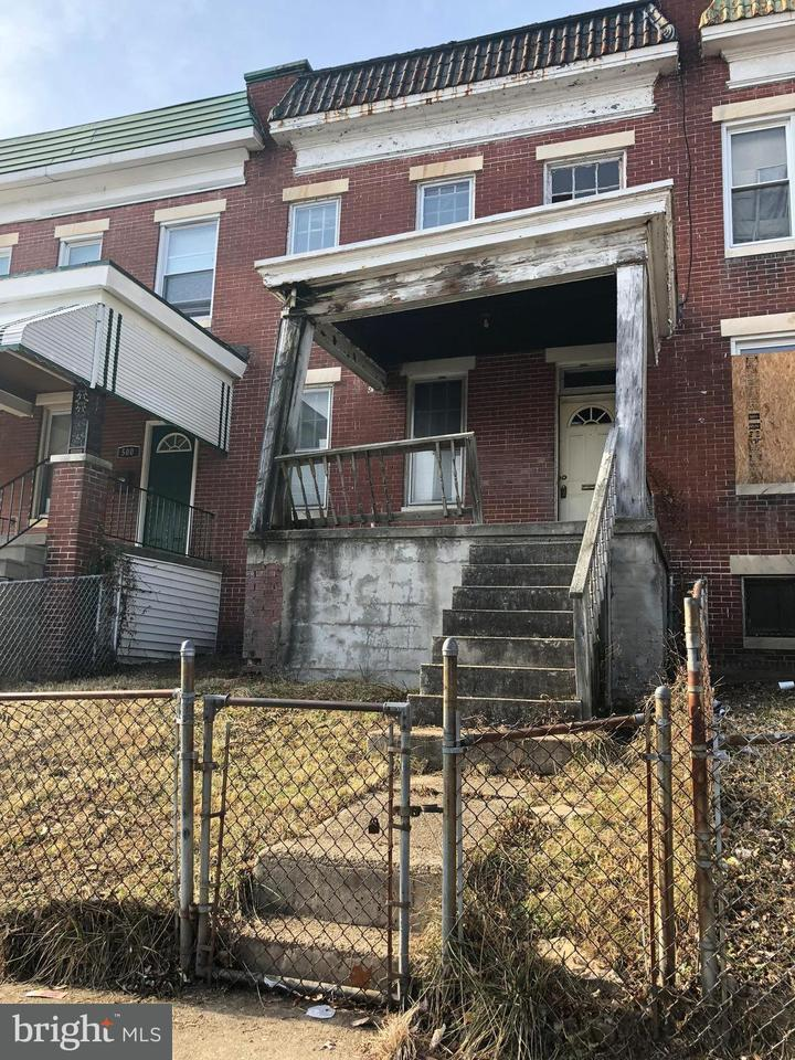 Single Family for Sale at 502 Edgewood St Baltimore, Maryland 21229 United States